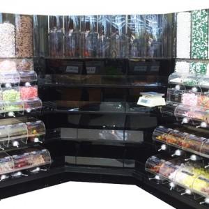 Corner Unit - Bulk Food System
