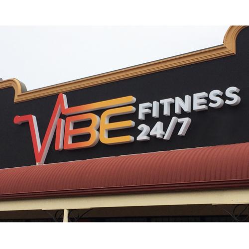 Vibe 3D Signage